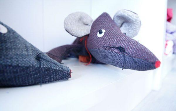 neugierige Mäusenasen